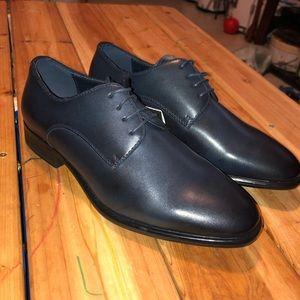 Zara Man Navy Blue Dress shoe size 6